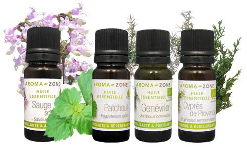 huiles essentielles ménopause
